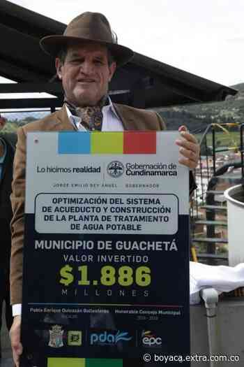 Guachetá tendrá planta de tratamiento de agua - Extra Boyacá