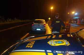 Carro roubado domingo no RS é recuperado na BR 158 em Palmitos - Chapeco.Org