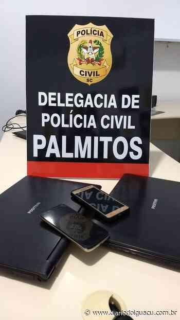 Polícia Civil de Palmitos e Caibi faz operação e prende homem em flagrante - Portal DI Online