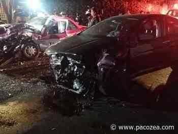 Jóvenes enfiestados provocan aparatoso accidente en San Jerónimo Lídice - PacoZea.com
