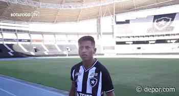 Alexander Lecaros se emocionó al conocer el estadio de Botafogo [VIDEO] - Diario Depor