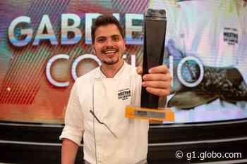 Chef Gabriel Coelho, de Presidente Venceslau, vence a final do reality Mestre do Sabor - G1