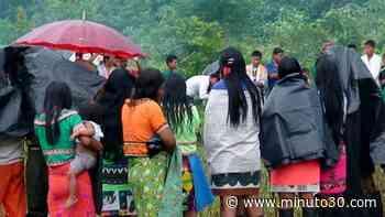 Al menos 12 resguardos indígenas en Frontino, Dabeiba y Murindó están confinados por grupos ilegales - Minuto30.com
