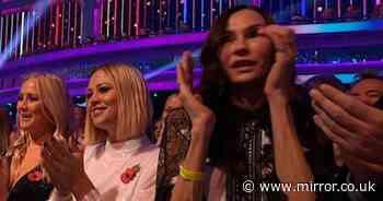 Strictly fans spot Hollywood star Famke Janssen in the front row - Mirror Online