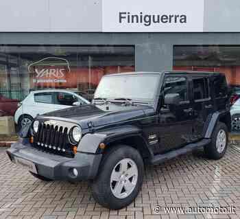 Vendo Jeep Wrangler Unlimited 2.8 CRD DPF Sahara Auto usata a Poggiridenti, Sondrio (codice 7004509) - Automoto.it
