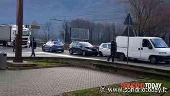 Incidente stradale, doppio tamponamento a Poggiridenti - SondrioToday