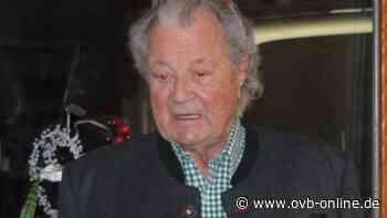 Letzte Pirsch in Soyen: Toni Meggle hört nach 63 Jahren als Jagdpächter auf   Wasserburg - Oberbayerisches Volksblatt