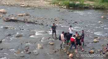 Junín: niña es arrastrada por el río San Ramón y joven muere junto a ella por intentar salvarla - LaRepública.pe