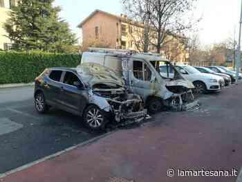 Altri veicoli bruciati a Cernusco sul Naviglio - La Martesana