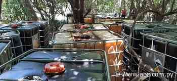 Incautan combustible de presunto ordeñe en barrio de Tacuaras - Nacionales - ABC Color