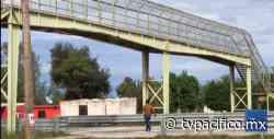 Preocupa a habitantes de Loma de Guamuchil mal estado de puente peatonal   La Denuncia   Noticias   TVP - TV Pacífico (TVP)
