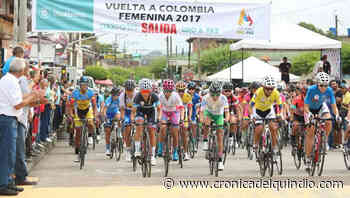 Vuelta a Colombia Femenina 2019 con meta en Salento - La Cronica del Quindio