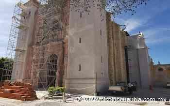 Santuario de Tepalcingo, a la mitad en su reconstrucción - El Sol de Cuautla