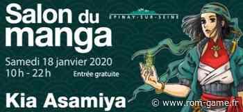 Salon du Manga d'Epinay-sur-Seine 2020 - Rom Game Retrogaming