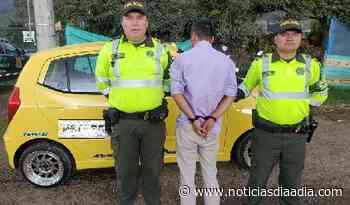 Detenido en Chía por presunto robo de celular en Sesquilé,... - Noticias Día a Día