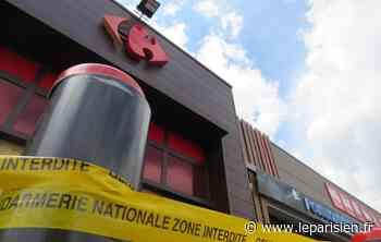 Rozay-en-Brie : le Carrefour Market cible d'une attaque aux chariots béliers - Le Parisien