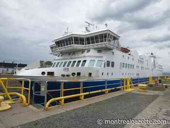 Matane-Baie-Comeau ferry hit with yet another setback - Montreal Gazette