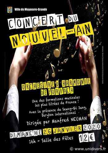 CONCERT DU NOUVEL AN Moyeuvre-Grande 26 janvier 2020 - Unidivers