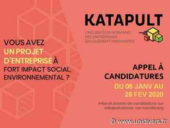 Katapult – réunion d'information Kaléidoscope Le Petit-Quevilly 27 janvier 2020 - Unidivers