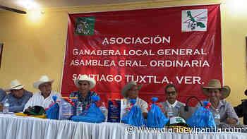 Pablo Castellanos reelecto presidente de la Ganadera Local de Santiago Tuxtla - Diario Eyipantla