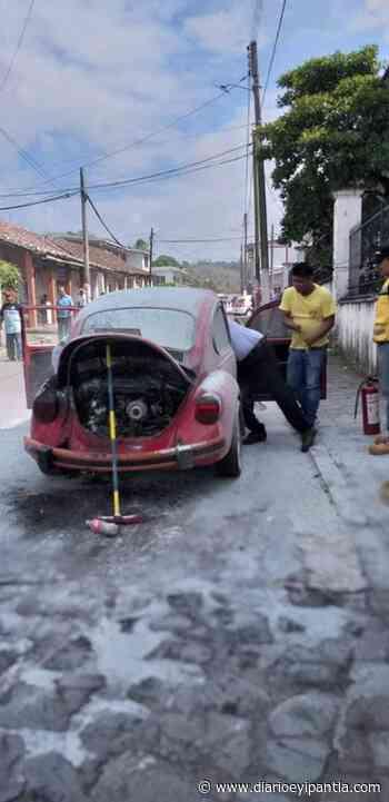 Conato de incendio movilizó a PC y Policía de Santiago Tuxtla - Diario Eyipantla