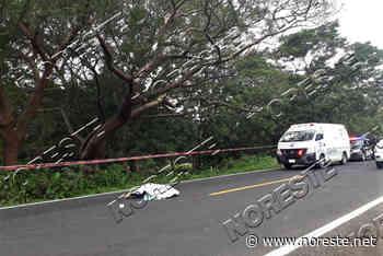 Mujer muere en choque de moto y auto, en Santiago Tuxtla - NORESTE