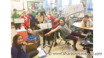 Lennoxville Elementary Christmas Basket campaign - Sherbrooke Record