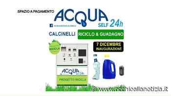 Acqua Self 24h Calcinelli - Inaugurazione (7 dicembre 2019) - Occhio alla Notizia
