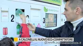A Calcinelli inaugurato il nuovo eco-compattatore - VIDEO - Occhio alla Notizia