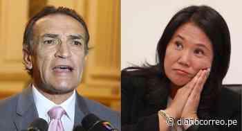 """Héctor Becerril: """"Presencia de Keiko Fujimori en Sala Penal demuestra que no hay peligro de fuga"""" - Diario Correo"""
