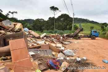 Chuva no ES: 100 toneladas de entulho são recolhidas em Muniz Freire - A Gazeta ES