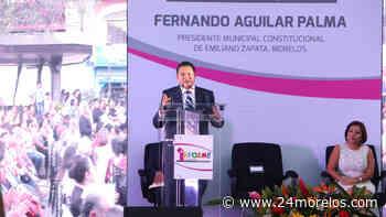 Presenta resultados gobierno de Emiliano Zapata - 24 Morelos