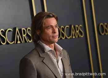 Brad Pitt at the Oscars Nominees Luncheon
