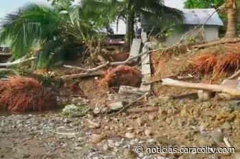 Emergencia en Istmina por desbordamiento de ríos - Noticias Caracol