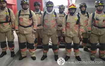 Los refuerzos de bomberos de Cotacachi, Ibarra y Tulcán son expertos en incendios forestales - El Comercio (Ecuador)