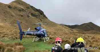 Excursionistas rescatados en los alrededores del Parque Cotacachi-Cayapas - Diario El Norte