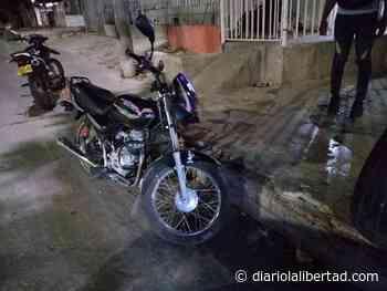 Robaron moto y Policía la recupera en Galapa - Diario La Libertad
