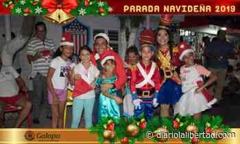 Alcaldía de Galapa celebró la Navidad con la entrega de más de 23.000 regalos y la Gran Parada Navideña - Diario La Libertad