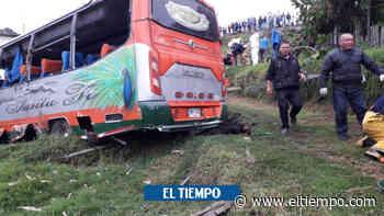 Accidente de bus deja 11 heridos en Facatativá, Cundinamarca - El Tiempo
