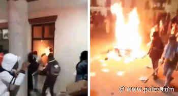 [Videos] Facatativá también pasa la noche en medio de llamas, temor y disturbios - Pulzo.com