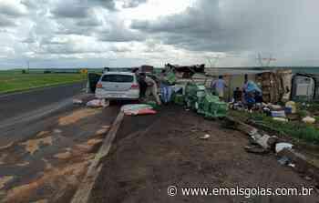 Trio especializado em saques de carga é preso em Goiatuba - Mais Goiás
