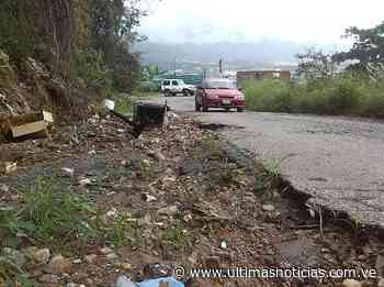 Un solo hueco las calles de Vista Hermosa en Guarenas - Últimas Noticias
