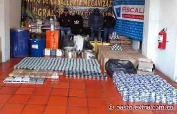 En el municipio de Pupiales, empacaban cocaína en latas de atún - Extra Pasto