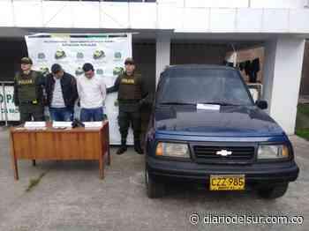 Los encarcelaron por robar a una pareja en Pupiales, sur de Nariño - Diario del Sur