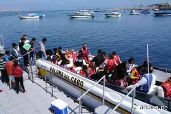 Fiscalizan actividades del servicio de transporte turístico acuático en Paracas - Agencia Andina