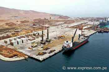 TP Paracas entrega primera etapa del Puerto San Martín - Expreso (Perú)