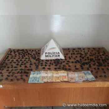 Suspeito é preso em Monte Alegre de Minas com posse de 287 papelotes de cocaína - Tudo Em Dia