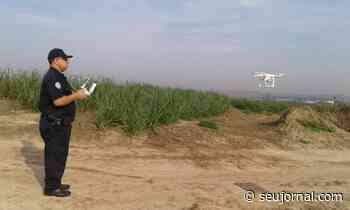 Em Elias Fausto operações de segurança começam ser realizadas com Drone - SeuJornal