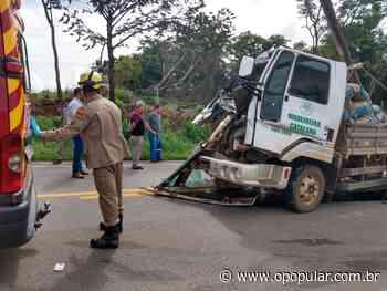 Batida Passageiro de caminhão morre após acidente em Ipameri 09/01/2020 17:25 - O Popular