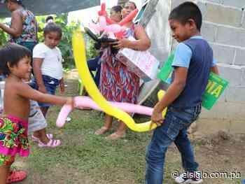 Niños de Calzada Larga viven el encanto de la Navidad - elsiglo.com.pa